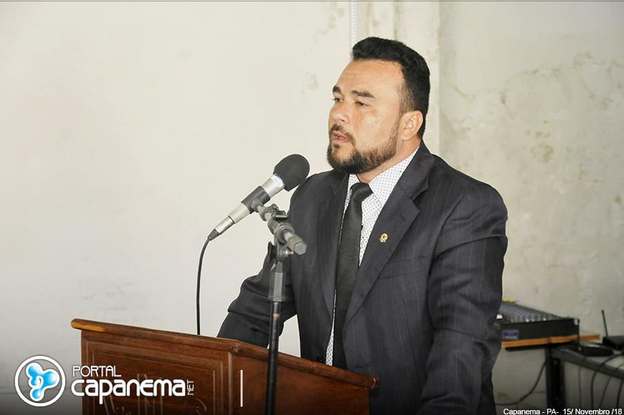 Pedro Paulo é eleito presidente da Câmara Municipal de Capanema