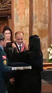 Dr. Alexandre Buchacra recebe medalha do mérito eleitoral