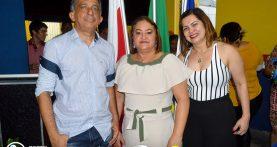 Cerimonia de posse do diretor Antônio Edson Porfírio de Lima na escola estadual Desembargador Augusto Olímpio, em Nova Timboteua.
