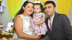 Casamento de Tatiany e Wanderley em Nova Timboteua