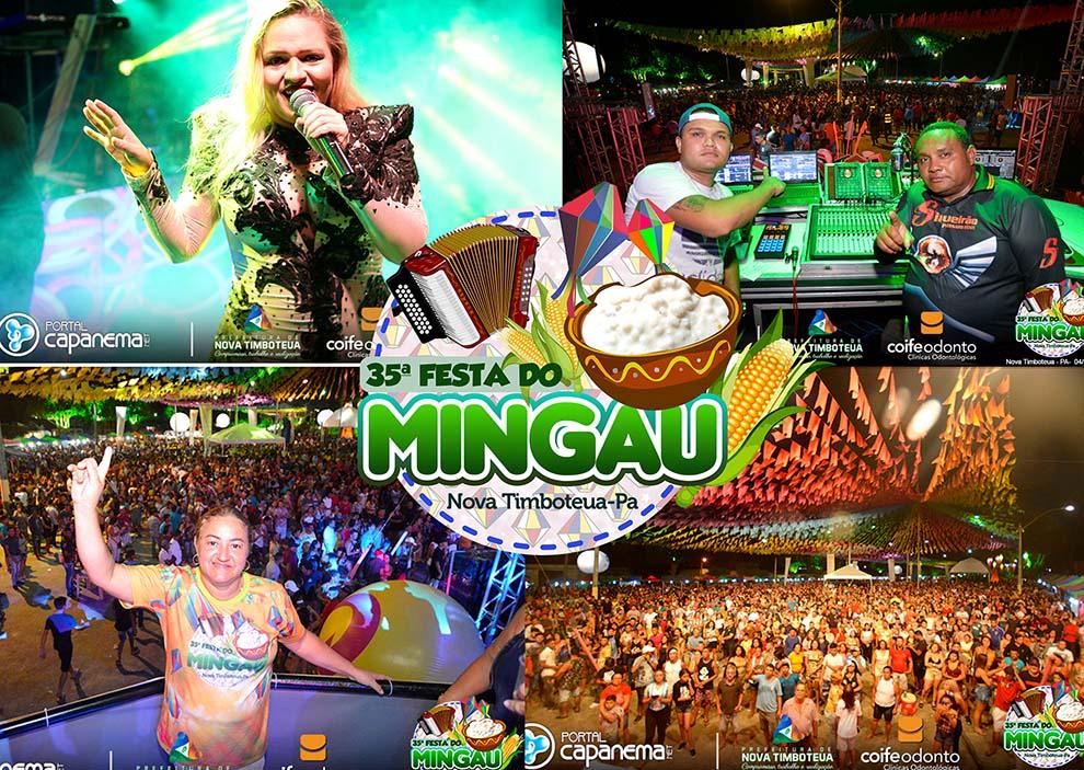 festa do mingau 2019 com banda xeiro verde e siqueirão em nova timboteua