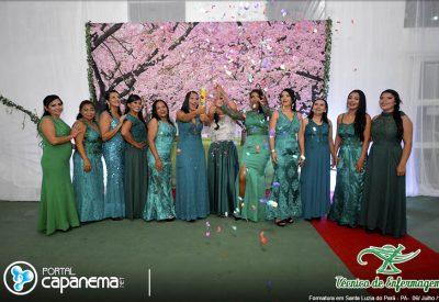 Formatura dos novos Técnicos de Enfermagem de Santa Luzia do Pará