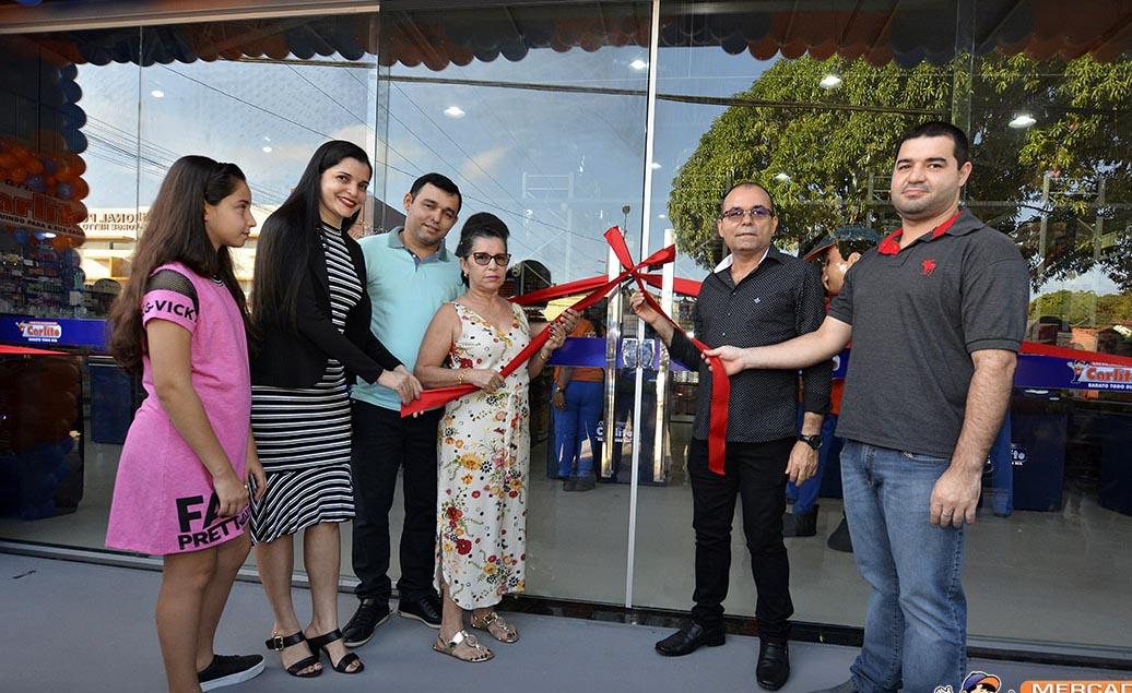 Novo Mercadinho do Carlito inaugura em Capanema