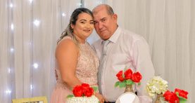 enlace matrimonial de pedro e laudenir em capanema