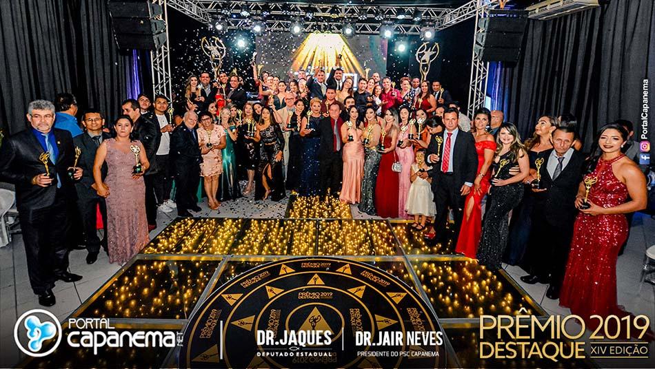 cobertura do premio destaque em Capanema