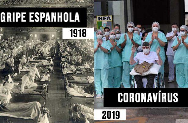 CORONAVÍRUS VS GRIPE ESPANHOLA 2