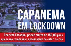 capanema em lockdown