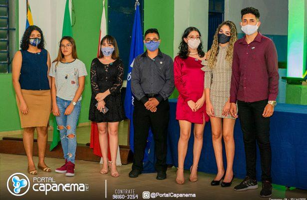 CERIMÔNIA DE POSSE DO NOVO PRESIDENTE DO INTERACT CLUB DE CAPANEMA