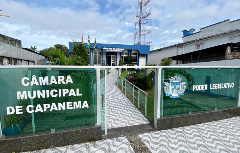Foto da Camara municipal de Capanema