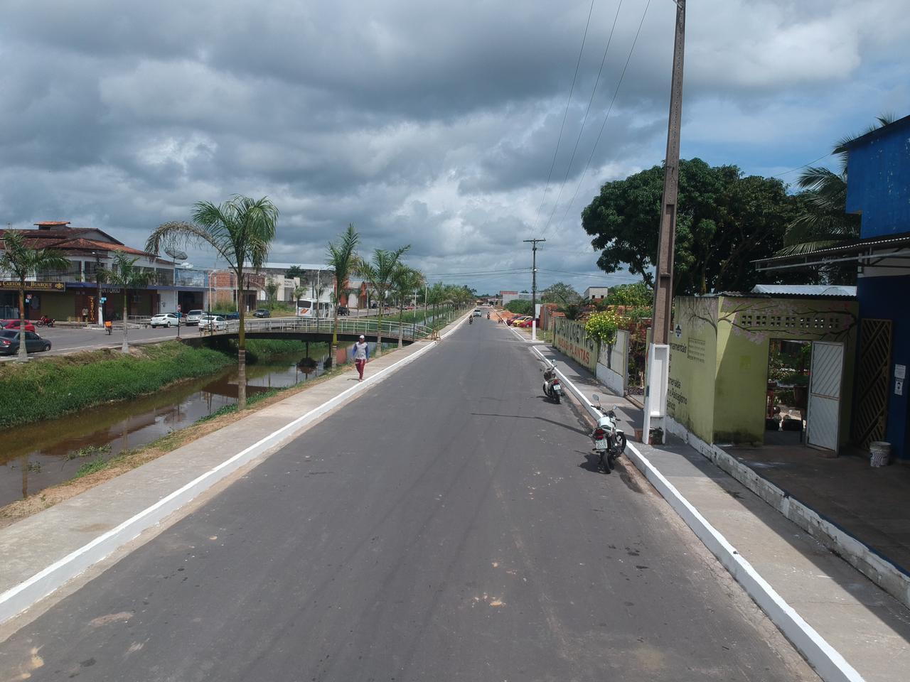 avenida salim abud em capanema