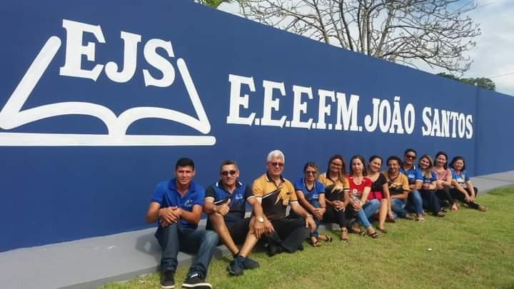 escola Joao santos em Capanema