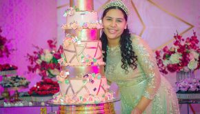 aniversário de 15 anos de Keren Apuque em Pirabas
