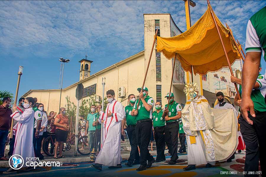 Corpus Christi 2021 em Capanema Pará