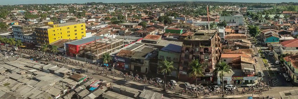 Trilha do trem em Bragança