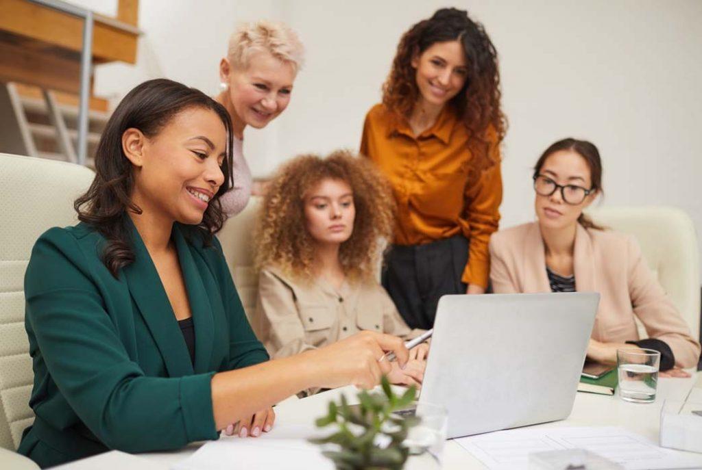 mulheres de negocios