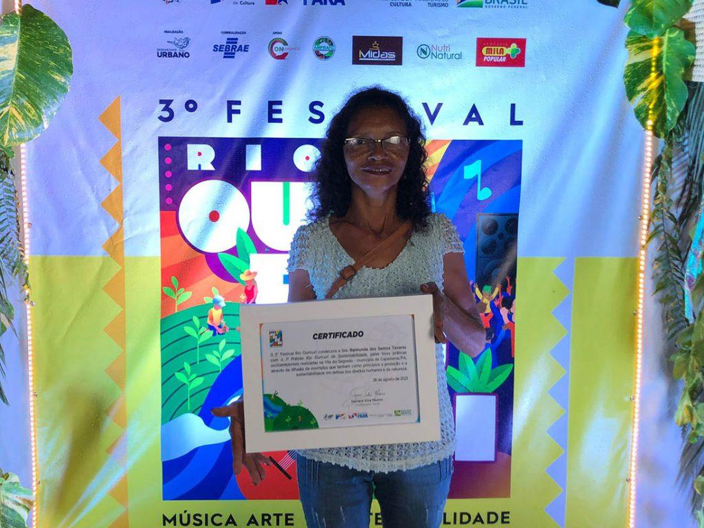 transmissão do Festival Rio Ouricuri em Capanema