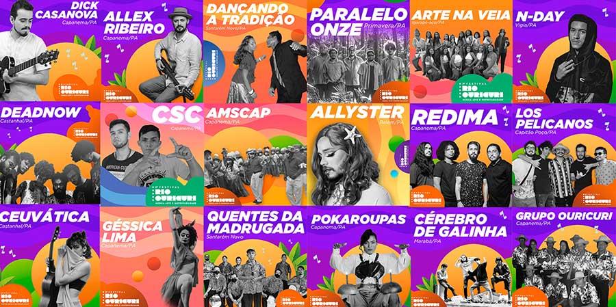 festival Rio Ouricuri em Capanema