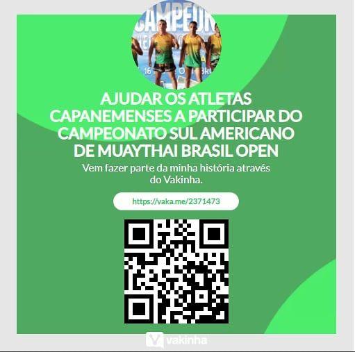 Atletas de Capanema pedem apoio para competir no Sul-Americano de Muaythai Brasil Open